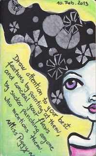 NatashaMay Art World: March 2013 StencilGirl Stencil by Jessica Sporn