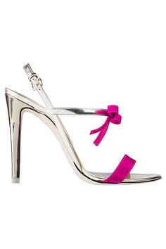 0d1b4b2b61a10 §Emporio Armani Slver and Pink Cruise Shoes 2013