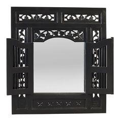 Ruji Mirror, Black