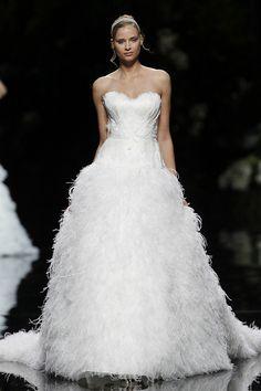 URABA - Pronovias 2013 Bridal Collection, via Flickr.