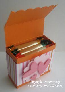 valentine box using cereal box