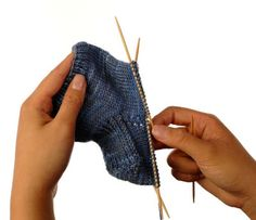 Once the leg is complete, you knit the heel. It may look complicated, but only a few simple steps are involved. To shape the sock so that it fits around the curve of the foot, the gusset heel consists of three steps—knitting a heel flap, shaping the bottom of the heel, and decreasing for the …