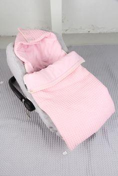 Antwerp baby sleeping bag waffle/flannel | Koeka webshop