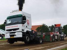 Renault Truck puller Holland