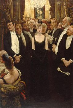 James Tissot - La plus jolie femme de Paris