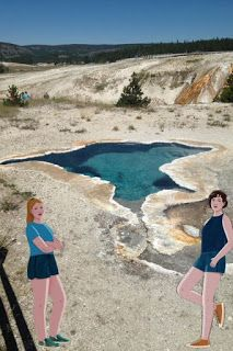 KJ and Becka into one of my Yellowstone trip pics - Spotlight on New Book Debut Author Casie Bazay #NewBook #DebutAuthor #2021Books Lauren Oliver, Ken Follett, Reluctant Readers, Family Feud, Keeping Healthy, Fiction Writing, Got Books, Writing Activities, Great View