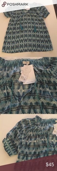 Joie Masha Silk Top. New with tags.Size Small Joie Masha Blouse with tie neck. Retailed for $228 and never been worn. Still has the tags. Great shirt for fall or spring. Size Small. Joie Tops Blouses