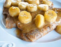 Banana Flour Crepes