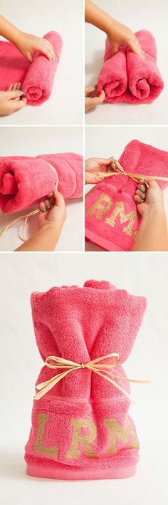 DIY Personalized Beach Towels for you Bachelorette Party using your Cricut Explore!