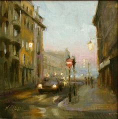 Evening in Lisbon, Karen Offutt, via Western Art & Architecture