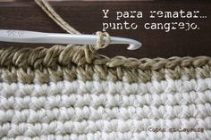 Coton et Lavande: TUTORIAL: STRIPED BAG... (3ª parte)