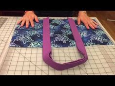 How to Make a Reversible Beach Bag | with Jennifer Bosworth of Shabby Fabrics - YouTube