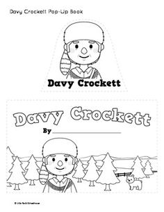 davy crocket coloring pages - photo#24
