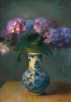 Juliette Aristides :: Fine Artist :: Blue Delft #home #decor