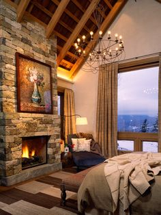 Traditional Bedroom Rustic Homes Design, Pictures, Remodel, Decor and Ideas - page 8