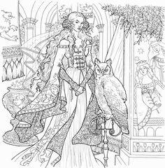 Серсея (илл. Ивонны Гилберт)