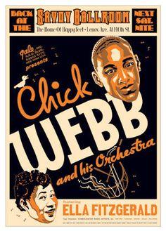 Chick Webb and Ella Fitzgerald