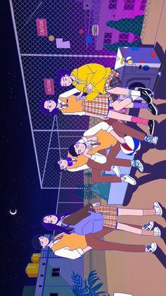 Teen Wallpaper, Wallpaper Notebook, Web Drama, Drama Drama, Character Illustration, Illustration Art, Teen Web, Korean Picture, Korean Art