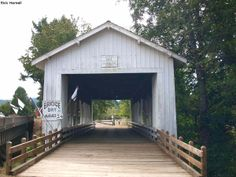 Crawfordsville Covered Bridge - Pacific Northwest Photoblog