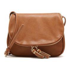 Women Vintage Crossbody Bags Ladies Casual Shoulder Bags Messenger Bags - Loluxe - 1