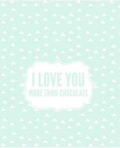 """Mother's Day """"I Love You More Than Chocolate"""" Candy Bar Wrapper - Free Printable www.prettyprovidence.com"""
