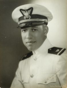 """Joseph Charles Jenkins was the first African American Naval Officer, becoming a US Coast Guard Ensign almost a year ahead of the Navy's """"Golden Thirteen"""". Black History Facts, Black History Month, Coast Guard Officer, Beyonce, History Magazine, African Diaspora, My Black Is Beautiful, Before Us, African American History"""