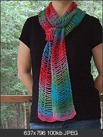 Easy Beauty Chain Scarf - Crochetville