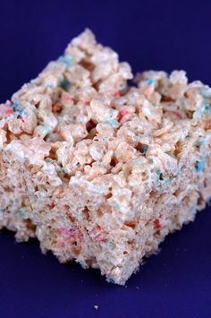Funfetti Krispie Treats at Culinary Concoctions by Peabody