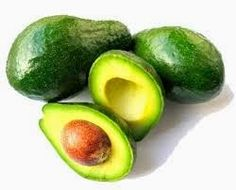 Avocados with seed