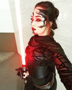 Image result for sith makeup Halloween 2018, Halloween Costumes, Female Sith, Big Hair Dont Care, Cosplay Makeup, Love Stars, Knights, Starwars, Don't Care