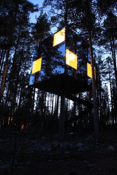 Sweden's Hotel of Treehouses