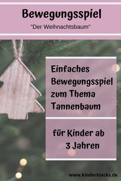 """: Movement game """"The Christmas tree"""" - A simple movement game suitable for the advent season. Thema Winter Im Kindergarten, Advent Season, Winter Wallpaper, Sand Crafts, Winter Kids, Christmas Fashion, Winter Colors, Winter Beauty, Kids And Parenting"""
