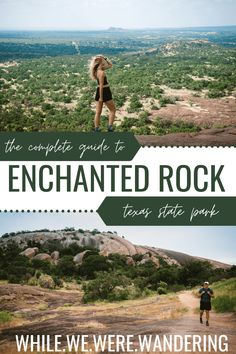 From hiking trails to travel tips, our guide is here t help you plan the perfect trip to Texas' Enchanted Rock State Park! Usa Travel Guide, Travel Guides, Travel Tips, Travel Abroad, Travel Advice, Cool Places To Visit, Places To Travel, Travel Destinations, Texas Travel