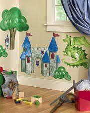 Murales maravillosos para la habitación infantil