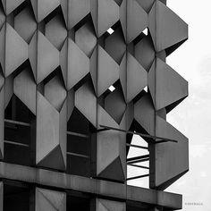 "socialistmodernism: "" Centrum Warenhaus, Magdeburg, Germany, built between 1970–1973, Architect: Karl-Ernst, Anne-Monika Zorn. © BACU #socialistmodernism """
