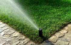 Installing an underground sprinkler system in your lawn and garden is only the first step in proper irrigation. Landscaping Supplies, Landscaping Company, Landscaping Tips, Garden Irrigation System, Lawn Irrigation, Irrigation Systems, Automatic Irrigation System, Landscape Services, Landscape Plans