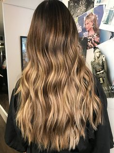 healthy meals for dinner easy meals ideas free Blonde Hair Looks, Blonde Hair With Highlights, Brown Blonde Hair, Brunette Hair, Ombre Hair, Balayage Hair, Golden Brown Hair Color, Hair Contouring, Honey Hair