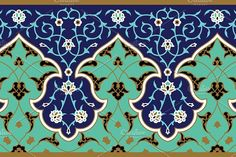 Find Arabic Floral Seamless Border Traditional Islamic stock images in HD and millions of other royalty-free stock photos, illustrations and vectors in the Shutterstock collection. Islamic Art Pattern, Arabic Pattern, Pattern Art, Motifs Islamiques, Arabic Design, Islamic Art Calligraphy, Vector Art, Illustration, Glass Art