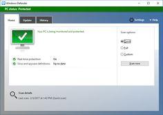 Windows Creators Update to improve Defender's detection and response