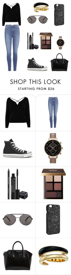 """""""Good Girl Gone Bad"""" by kincanon ❤ liked on Polyvore featuring River Island, Paige Denim, Converse, Olivia Burton, Rodial, Bobbi Brown Cosmetics, Seafolly, Victoria's Secret, Givenchy and Michael Kors"""