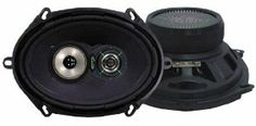 Lanzar VX573 VX 5-Inchx 7-Inch/6-Inchx 8-Inch Three-Way Speakers by Lanzar. $34.35. Standard 5-Inchx7-Inch/6-Inchx8-Inch Size Fits OEM Locations Poly-Mica Coated Woofer Cone 1-Inch High Temperature Voice Coil Film Cone Midrange Neodymium Dome Tweeter Power Handling: 115 Watts RM/230 Watts Max Impedance: 4 Ohms Frequency Response: 54-22kHz Rubber Boot Magnet Cover Mounting Depth: 2-Inch Includes Grills, Wires and Installation Hardware. Save 61%!