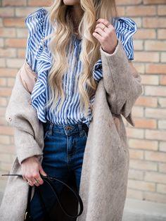 Wenn man in letzter Zeit durch Modezeitschriften blättert, dann kommt man um einen Trend nicht rum: Rüschen oder auch Ruffles so weit das Auge reicht!