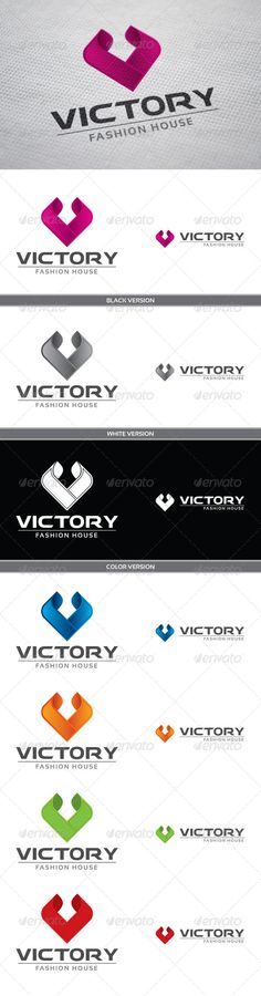 Victory #GraphicRiver Victory Logo symbolizes the letter V. Logo symbolizes tenderness, heart, smoothness and elegance. You can easy change color for logo. Feature Ai, Eps, PSD , Transparent PNG Help file Font used: Behatrice – .dafont /behatrice.font Sansation – .dafont /sansation.font Unique Logos Badges Created: 20March13 GraphicsFilesIncluded: PhotoshopPSD #TransparentPNG #VectorEPS #AIIllustrator Layered: Yes MinimumAdobeCSVersion: CS2 Resolution: Resizable Tags: blue #elegance #green…