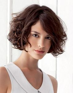 Short curly bob hair cut is very much suitable for the blond lover girls