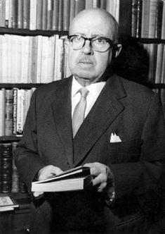 DÁMASO ALONSO. Poeta, crítico y filólogo español, representante de la generación del 27.