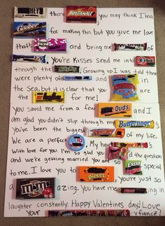 My Valentines Candy Gram Crafty T Candy Grams Gift