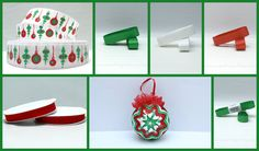 Quilted Ornaments, Ribbons, Holiday Decor, Christmas, Home Decor, Homemade Home Decor, Bias Tape, Navidad, Grinding