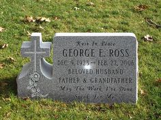 Small Headstones for Graves For Sale