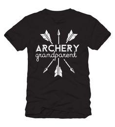 Archery Grandparent T-Shirt Archery Logo, Archery Shirts, Archery Club, Archery Tips, Archery Hunting, Archery Clothing, Archery Quotes, Bow Hunting Tips, Nana Grandma