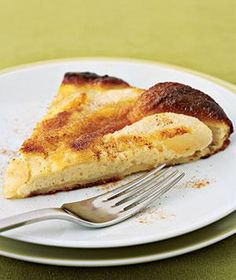 Oven Pear Pancake | RealSimple.com